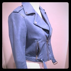 Zara Faux Leather Jacket - Small